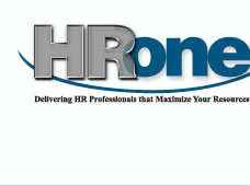 HROne - Delivering HR Professionals that maximize your resources